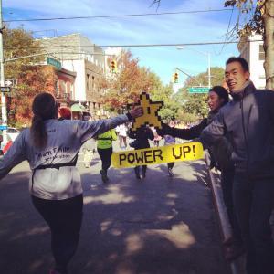 TCS NY Marathon 2014 Sign