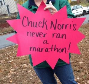 "TCS NYC Marathon 2014 ""Chuck Norris"""